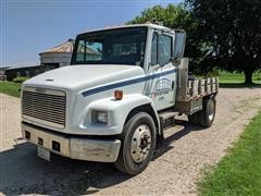 2003 Freightliner FL60 S/A Flatbed Truck