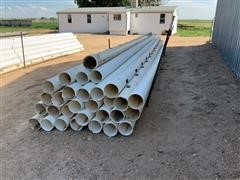 """8"""" PVC Gated Irrigation Pipe"""