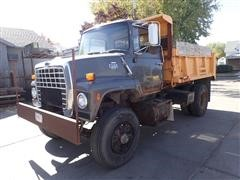1985 Ford 8000 S/A Dump Truck