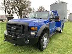 2009 Ford F450 4x4 Utility Truck