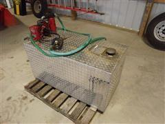 Delta 100 Gallon Aluminum Fuel Tank And 12V Pump