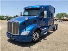 2016 Peterbilt 579 T/A Cab & Chassis