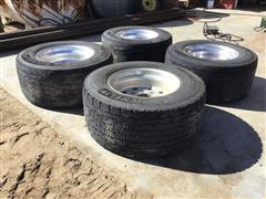 Michelin 445/50R22.5 Tires/Rims