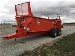 2017 KUHN Knight PS160 Accuspread Manure Spreader