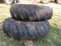 Firestone Field & Road 16.9-34 Tractor Tires & Rims