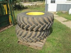 Firestone Radial All Traction FWD 18.4R26 Rear Combine Tires