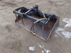 "Bobcat 68"" Low Pro Bucket W/Grapple"