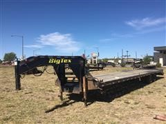 2018 Big Tex 22GNHD 35' T/A Flatbed Trailer