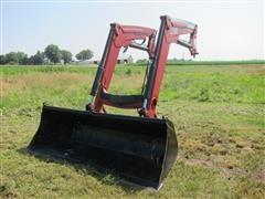 2011 Case IH L780 Quick Attach Loader W/Mounting Brackets, Joystick, Hydraulic Hoses & Bucket