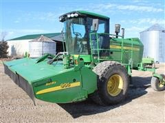 2008 John Deere 4995 SP Self-Propelled Windrower W/16' 995 Rotary Head