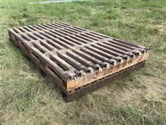 Homemade Cattle Guards
