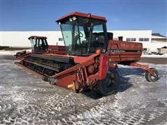 1991 Case IH 8840 Self Propelled Windrower