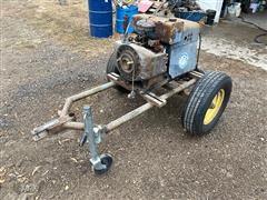 Miller AEA-200L Gas Powered AC Power Welder Generator