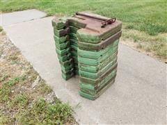 John Deere R51680 Tractor Suitcase Weights
