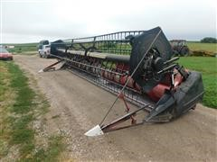 2002 Case IH 1020 Combine Flex Head/Crary Air Reel