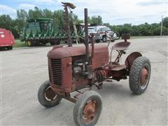 1948 Case VA1 2WD Tractor w/5' Sickle Bar Mower
