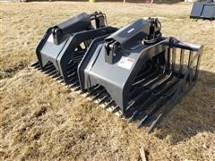 2020 Stout HD72-3 Rock Bucket Grapple Skid Steer Attachment