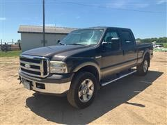 2006 Ford F250 Super Duty Lariat 4x4 Crew Cab Pickup