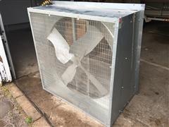 Dayton 4ZA71 115/230V Slant-Wall Belt Drive Exhaust Fan