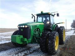 2003 John Deere 8320 MFWD Row Crop Tractor w/ JD Starfire 3000 Guidance System