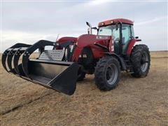 Case IH MX135 MFWD Tractor W/Loader