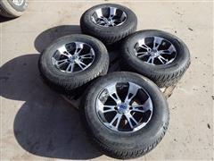 SS 4 Bolt ATV Rims & 215/70R14 Street Tires