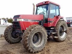 1994 Case IH 7220 MFWD Tractor W/ Koyker 645 Loader