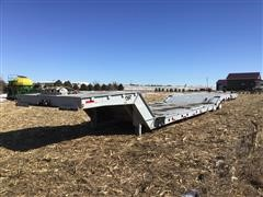 2001 Muv-All T/A Flatbed Machinery Trailer