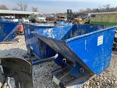 2016 Vestil D-200-MD Forklift Self-Dumping Hoppers W/Bump Release