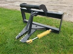 2020 Mid-State Tree/Post Puller Skid Steer Attachment