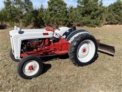 1953 Ford Golden Jubilee 2WD Tractor & 3-Pt Blade