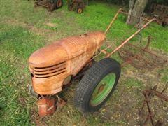 David Bradley 917.5752 Walk Behind Garden Tractor With Implements
