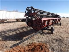 1989 Case IH 1010 30 ' Platform Header & Trailer