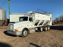 1992 International 9400 Tender Truck w/ Convey-All Box