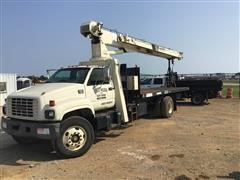 2001 GMC C7500 S/A Boom Truck W/National 500D