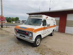 1978 Ford Econline S350 Ambulance