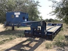 2013 Kaufman 55 Ton Tri/A Hyd Detachable Lowboy Trailer