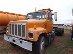 1993 International 2374 T/A Truck Tractor W/Winch & Roller Rear Tail Piece