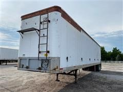 1984 Fruehauf FB-9-F2-48-LLW1.5 T/A Walking Floor Trailer
