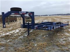 2014 Duo Lift SW24D T/A Swather Hauler