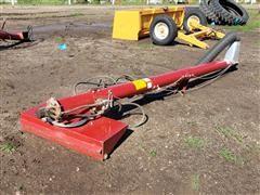 Truck/Wagon Brush Unloading Auger