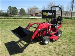 2017 Mahindra EX20S4FHILM EMax 20S MFWA Compact Utility Tractor W/Loader & Mower