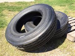 Bridgestone Recap Matching Tires Size 295/75R22.5