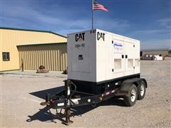 2006 Caterpillar XQ100-4 90KW Portable Generator