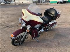 2007 Harley Davidson Ultra Classic Touring Motorcycle