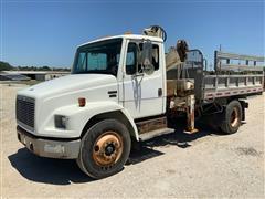 2001 Freightliner FL70 Stake/Dump Body Utility/Service Truck