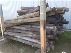 Wood Fence Posts