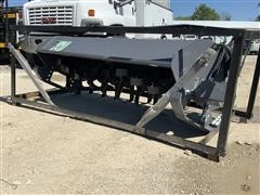 "2020 TMG SRT72 72"" Rotary Tiller Skid Steer Attachment"