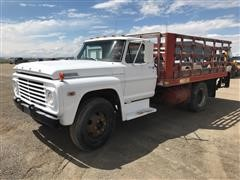 1968 Ford F500 Rack Truck W/ Man Lift