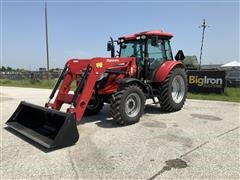 2017 Mahindra 9110P 4WD Compact Utility Tractor W/Loader